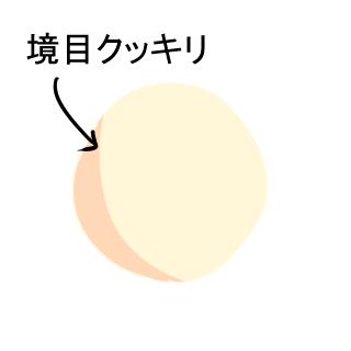 境目クッキリアニメ塗り